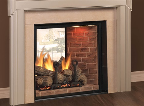 Carolina Fireplace Covington See-Thru