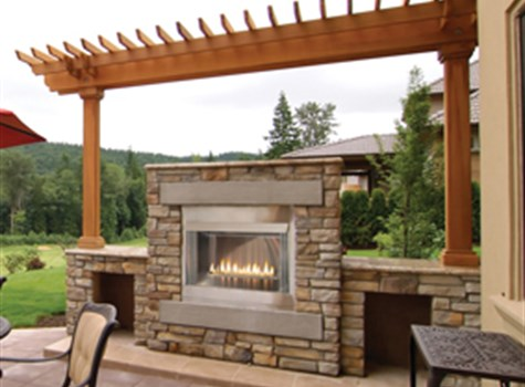 Carolina Fireplace Outdoor Fireplace
